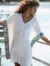 Marine Bloom - Beach Poncho for Women  ERJX603250