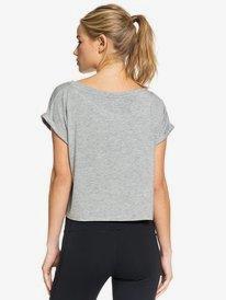 Empty Streets - Cropped Sports T-Shirt  ERJZT04791