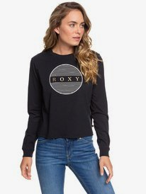 This Is Cool - Cropped Long Sleeve T-Shirt for Women  ERJZT04831