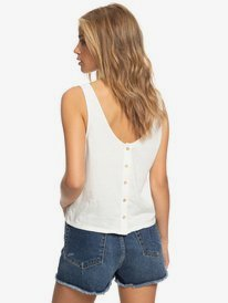 Master Lover - Buttoned Back Vest Top for Women  ERJZT04898