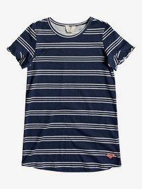 Second Sun - Short Sleeve T-Shirt Dress for Girls 2-7  ERLKD03064