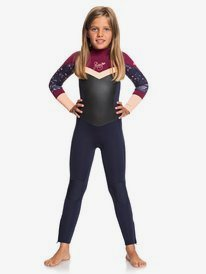 4/3mm Syncro GBS - Back Zip Wetsuit for Girls 2-7  ERLW103005