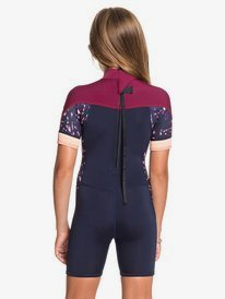 2/2mm Syncro - Back Zip Short Sleeve Springsuit for Girls 2-7  ERLW503002