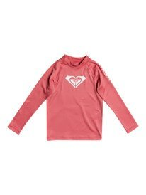 Whole Hearted - Long Sleeve UPF 50 Rash Vest for Girls 2-7  ERLWR03149