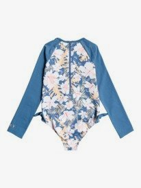 Swim Lovers - Long Sleeve UPF 50 One-Piece Rashguard for Girls 2-7  ERLWR03175