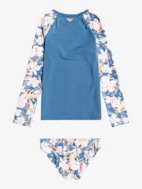 Swim Lovers - Long Sleeve UPF 50 Rash Vest Set for Girls 2-7  ERLWR03179