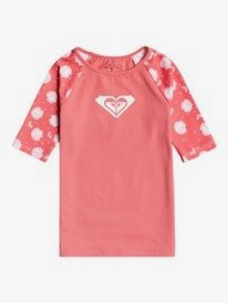 ROXY - Short Sleeve Rashguard for Girls 2-7  ERLWR03181