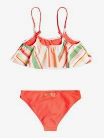 Stripey Sky - Recycled Flutter Bikini Set for Girls 2-7  ERLX203132