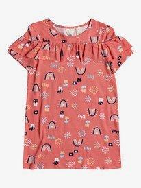 Arty - Short Sleeve Dress for Girls 2-7  ERLX603016