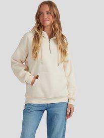 Going Left - Hooded Polar Fleece for Women  URJPF03001