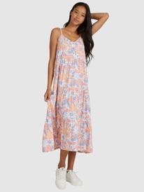 Shelly Beach Tiered - Strappy Midi Dress for Women  URJWD03104
