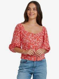 Baby Jane  - Puff Sleeve Top for Women  URJWT03047
