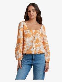 Peaceful Mirage - Long Sleeve Top for Women  URJWT03048