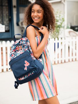 Happy At Home 23L - Reversible Medium Backpack for Girls  ARGBP03002