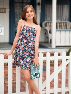 Head Above Sea - Midi Strappy Dress for Girls 8-16  ARGWD03029