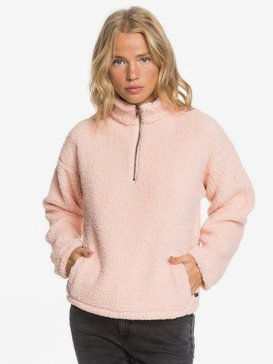 ROXY - Sherpa Half-Zip Fleece for Women  ARJFT03645