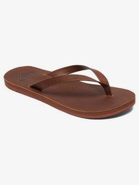 Brinn - Leather Flip-Flops for Women  ARJL200689