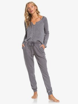 Look Lively - Cosy Waffle Knit Joggers for Women  ARJNP03147