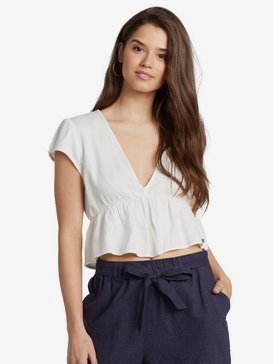 "Steal The Sun 2.5"" - Linen Shorts for Women  ARJNS03126"