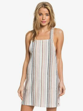 Feelin The Sun - Strappy Linen Dress for Women  ARJWD03269