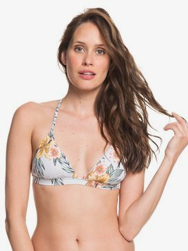 Printed Beach Classics - Fixed Triangle Bikini Top for Women  ARJX303407