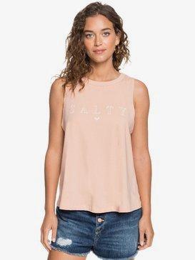 Salty - Sleeveless T-Shirt for Women  ARJZT05716