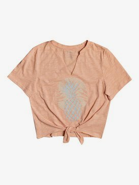 Pineapple Sun - Tie-Front T-Shirt for Women  ARJZT05733