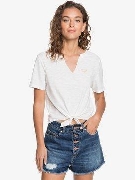 Tres Fins - Tie-Front T-Shirt for Women  ARJZT05754