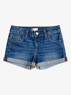 Lullaby Tonight - Denim Shorts for Girls 4-16  ERGDS03051