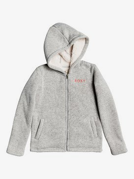 Super Cosy - Zip-Up Sherpa-Lined Hooded Fleece for Girls 4-16  ERGFT03422