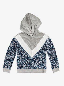 Thunder Clouds - Zip-Up Hooded Fleece for Girls 4-16  ERGFT03557