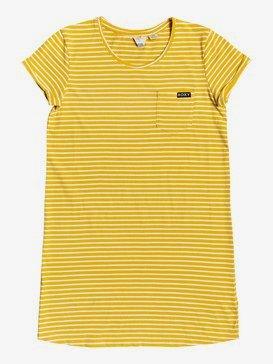 Walking Alone - Short Sleeve T-Shirt Dress for Girls 4-16  ERGKD03113