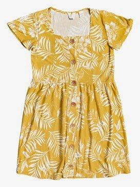 How Long - Short Sleeve Buttoned Dress for Girls 4-16  ERGKD03148
