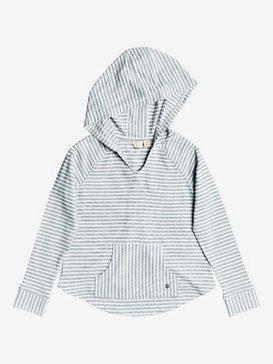 Long Waves - Hooded Long Sleeve Top for Girls 4-16  ERGKT03122
