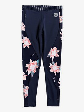 ROXY Shore - UPF 50 Surf Leggings for Girls 4-16  ERGNP03055