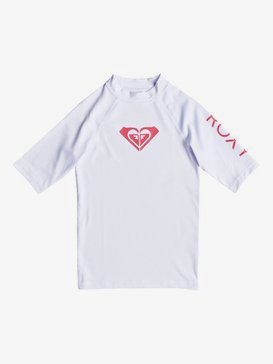 Whole Hearted - Short Sleeve UPF 50 Rash Vest for Girls 8-16  ERGWR03079