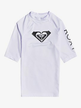Whole Hearted - Short Sleeve UPF 50 Rash Vest for Girls 8-16  ERGWR03206