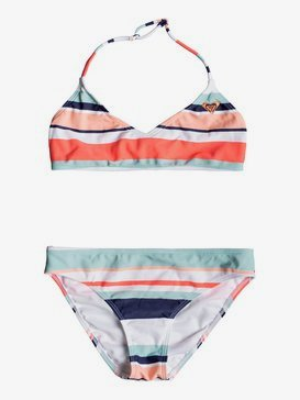 Happy Spring - Triangle Bralette Bikini Set for Girls 8-16  ERGX203193