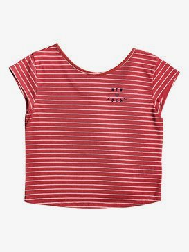 Baby Tee - Boxy Cap Sleeve T-Shirt for Girls 4-16  ERGZT03495