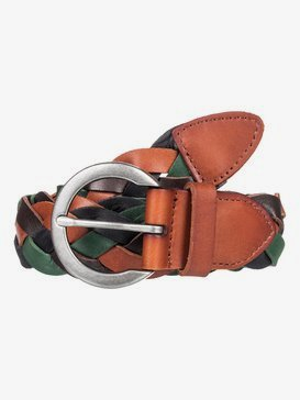 Color Everywhere - Braided Leather Belt for Women  ERJAA03635