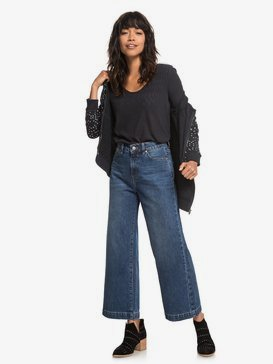 Lullaby Soul - Wide Leg Jeans for Women  ERJDP03198