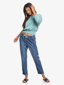 Slow Swell - Elasticated Relaxed Fit Jeans  ERJDP03229