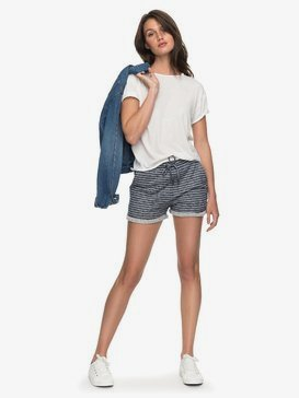 Trippin Stripe - Sweat Shorts for Women  ERJFB03152