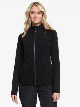 Limelight - Zip-Up Mock Neck Fleece for Women  ERJFT03959