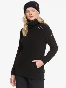 Deltine SpinDye® - Technical Turtleneck Fleece for Women  ERJFT04010