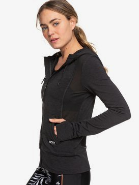 Twisted By The Moon - Technical Zip-Up Hoodie for Women  ERJFT04056