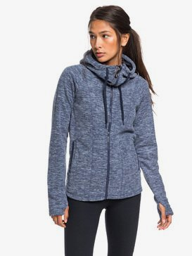 Electric Feeling - Hooded Zip-Up Fleece for Women  ERJFT04057