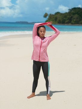 Heartbreaker Hotel - Technical Zip-Up Sports Top for Women  ERJFT04141