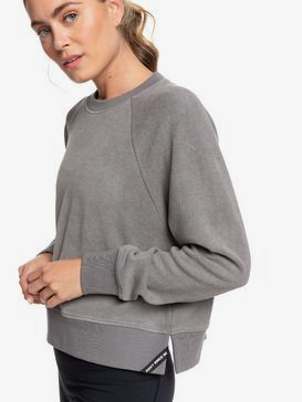 Instant Crush - Cropped Fleece Sports Sweatshirt  ERJFT04143