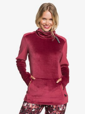 Deltine - Technical Funnel Neck Fleece for Women  ERJFT04205